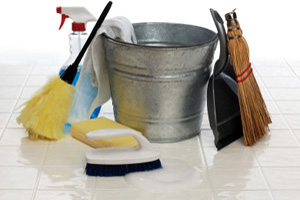 Cleaning Supplies - Water Damage Removal