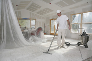 Remodel cleaning